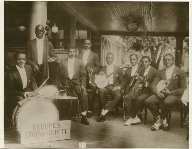"""James Reese Europe band """"The New York Public Library"""""""