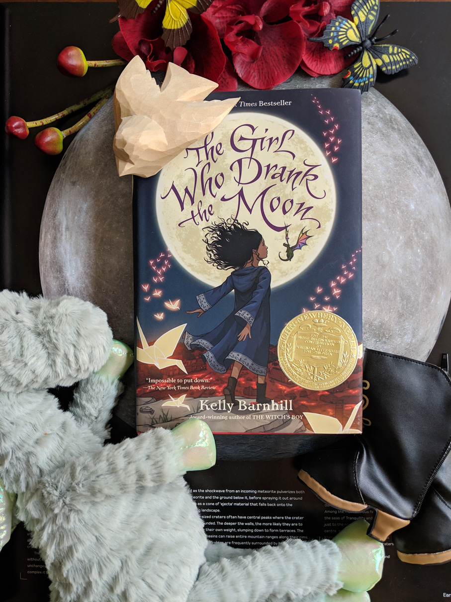 Read more about the article The Girl Who Drank The Moon by Kelly Barnhill
