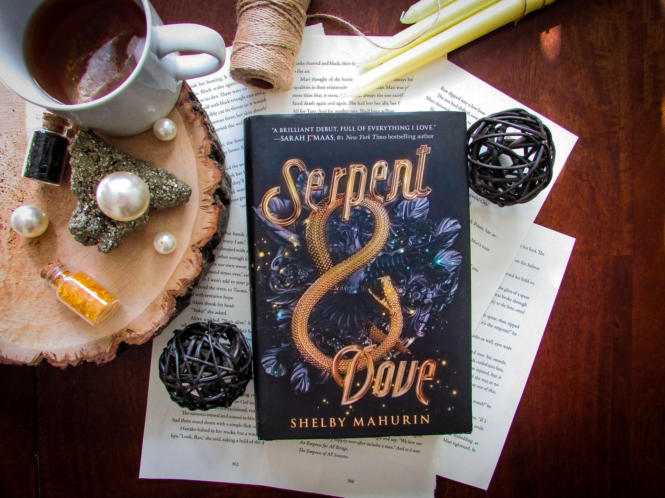 You are currently viewing Serpent & Dove by Shelby Mahurin