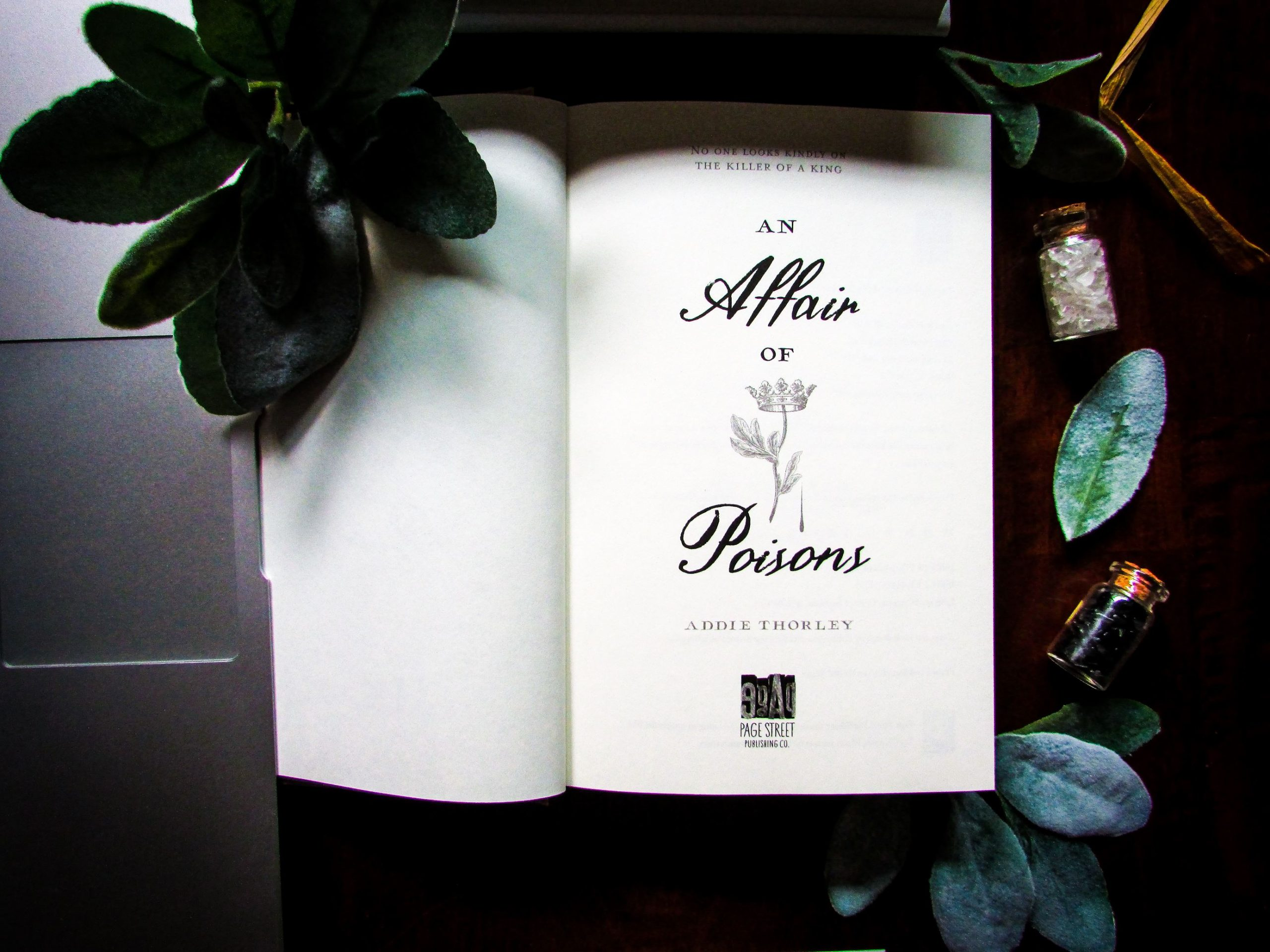 An Affair of Poisons by Addie Thorley