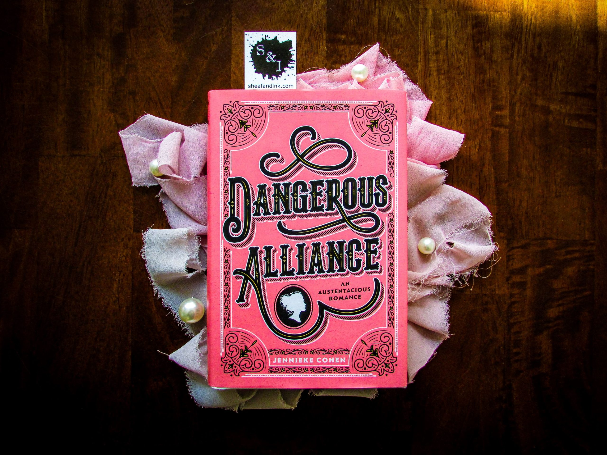 Dangerous Alliance, An Austentacious Romance by Jennieke Cohen
