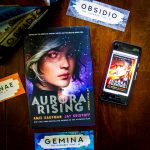 Aurora Burning, Advance Readers Copy (ARC) by Amie Kaufman and Jay Kristoff