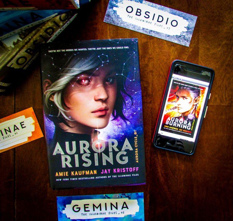 Aurora Burning, Advance Readers Copy (ARC) by Amie Kaufman and Jay Kristoff
