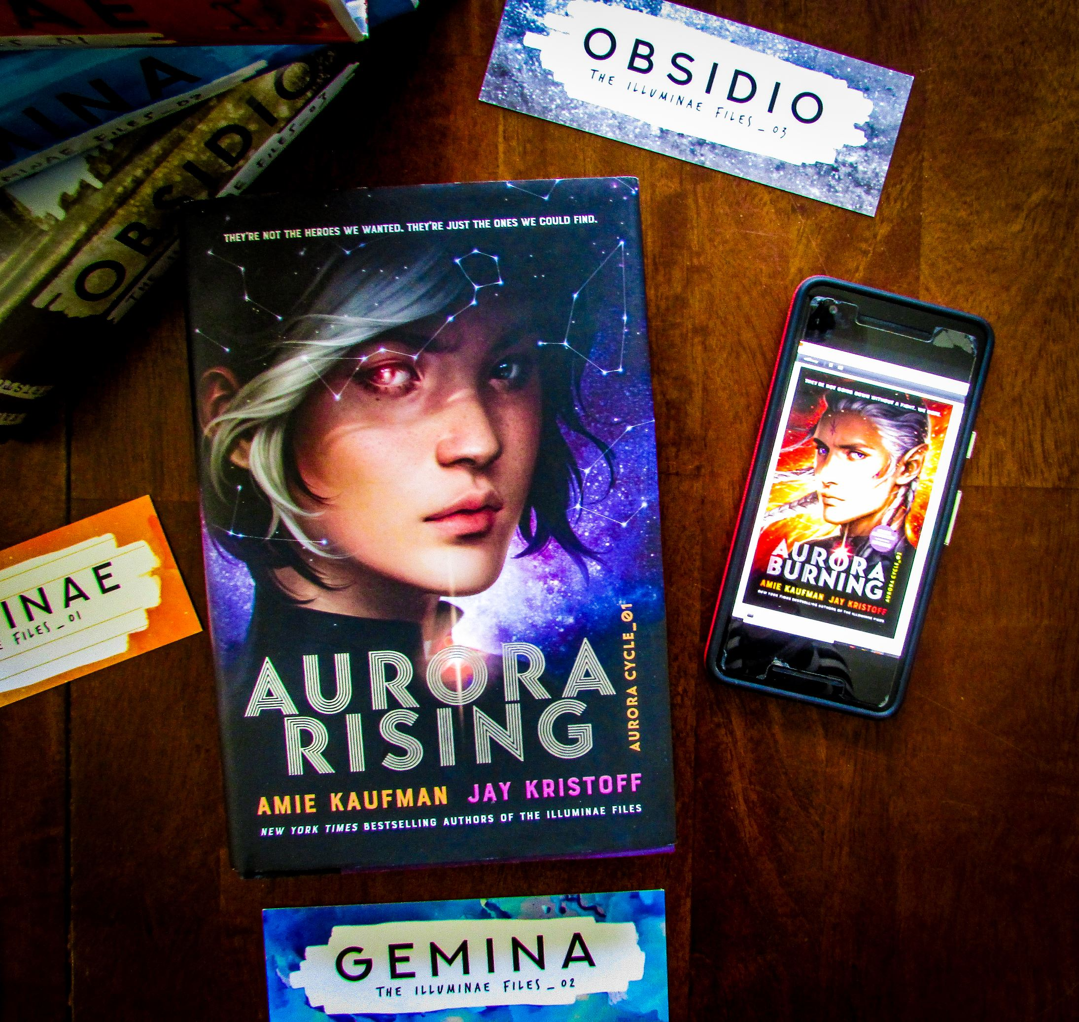 Aurora Burning by Amie Kaufman and Jay Kristoff Advance Readers Copy (ARC)
