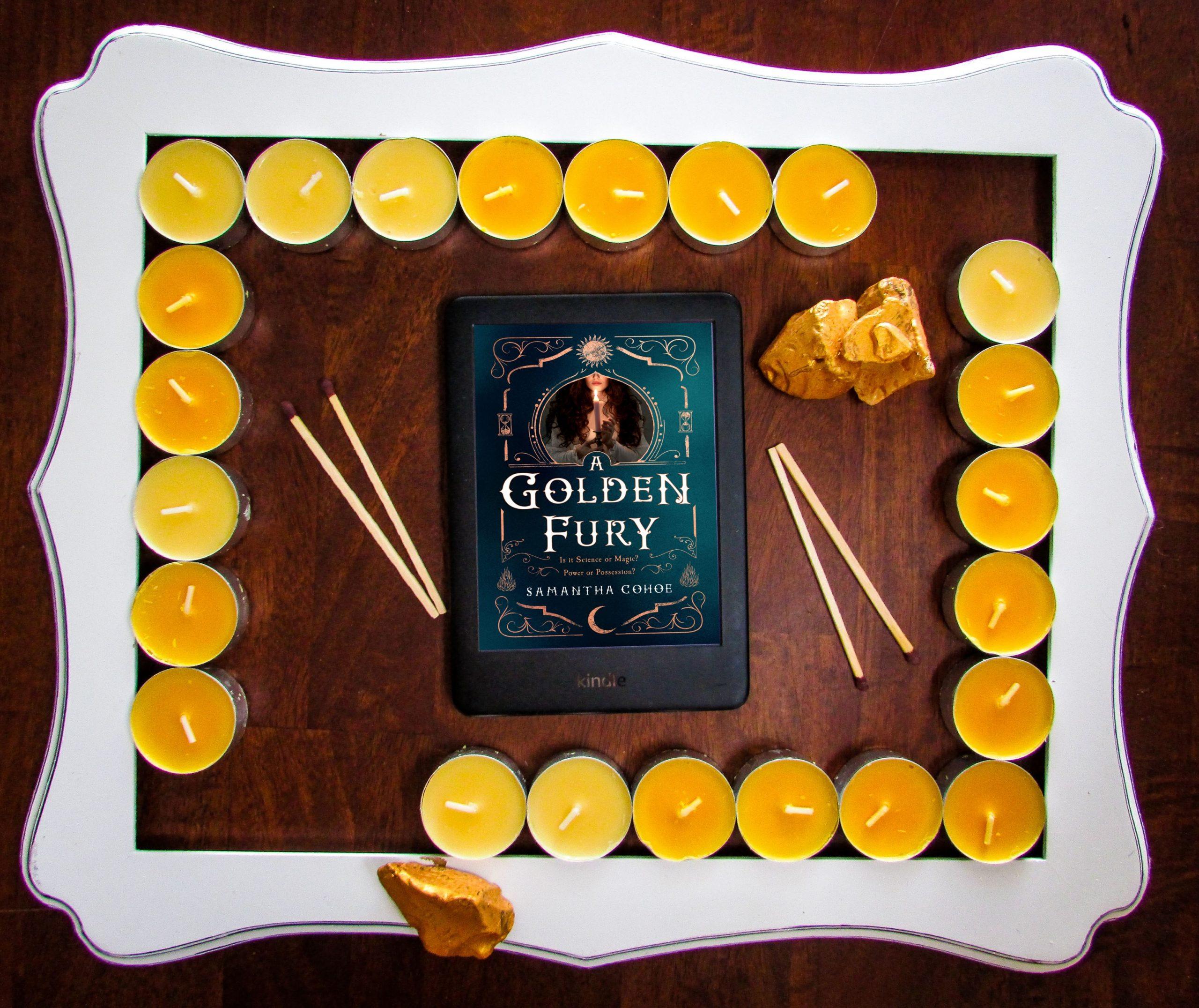 Read more about the article A Golden Fury by Samantha Cohoe