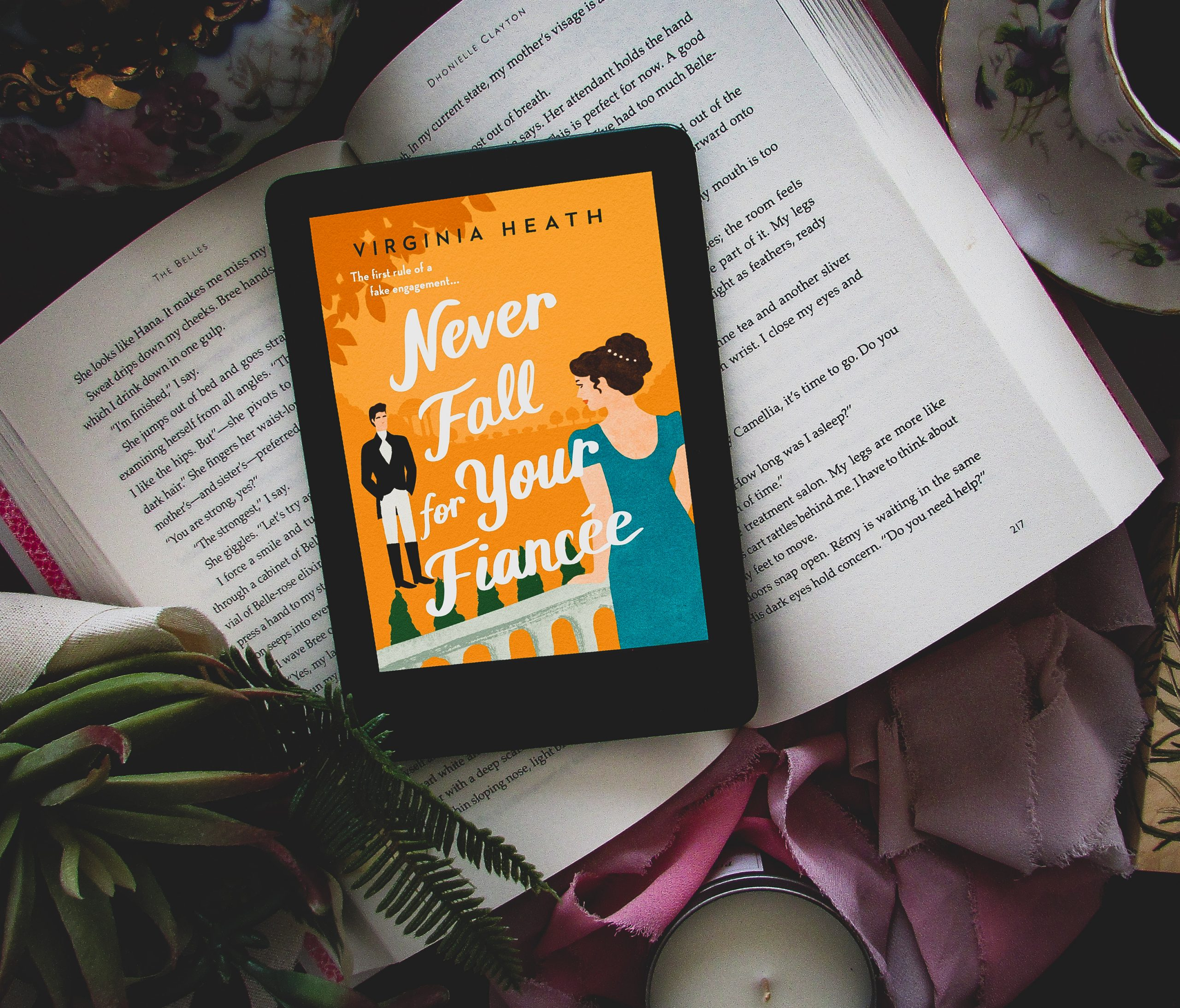 Read more about the article Never Fall for Your Fiancée by Virgina Heath