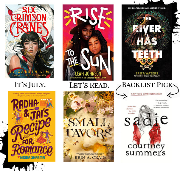 Read more about the article July 2021 YA Releases by Cecelia Beckman