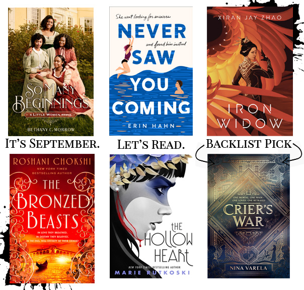 Read more about the article September 2021 YA Releases