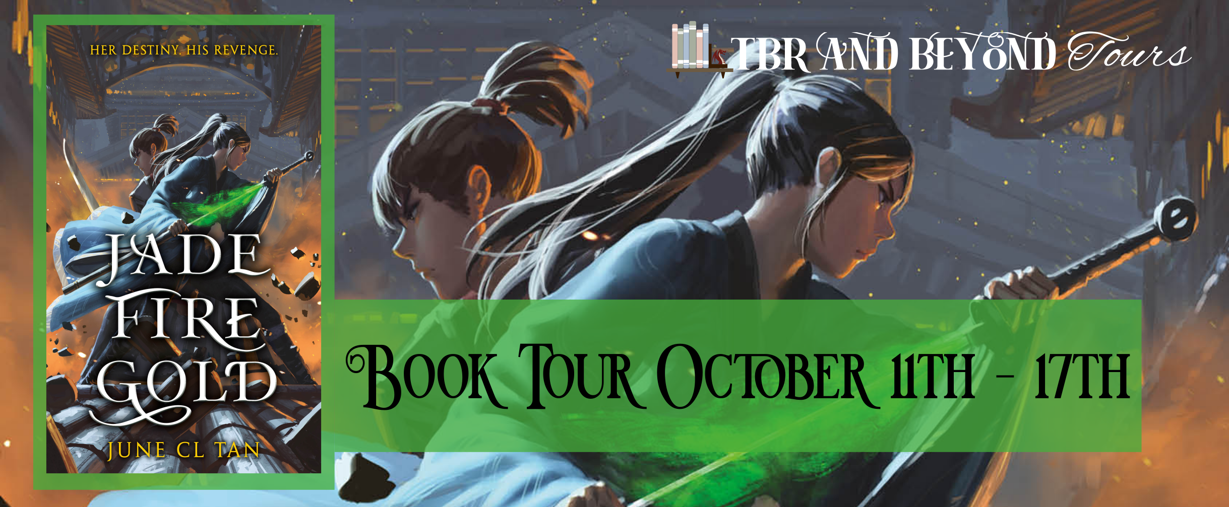 Read more about the article Blog Tour //Jade Fire Gold by June C.L. Tan//