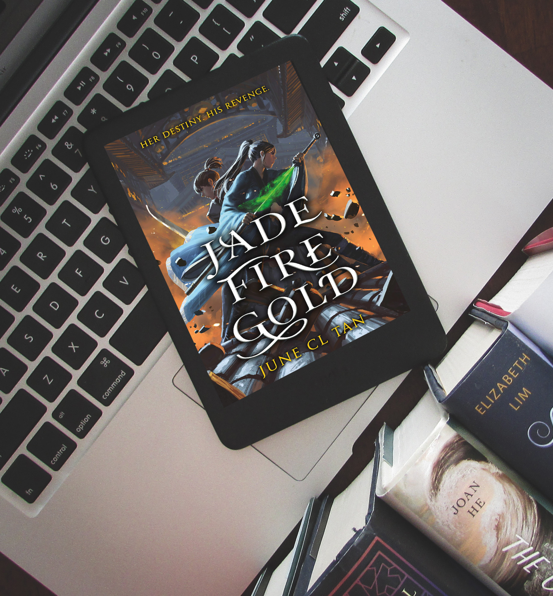 Read more about the article Jade Fire Gold by June CL Tan
