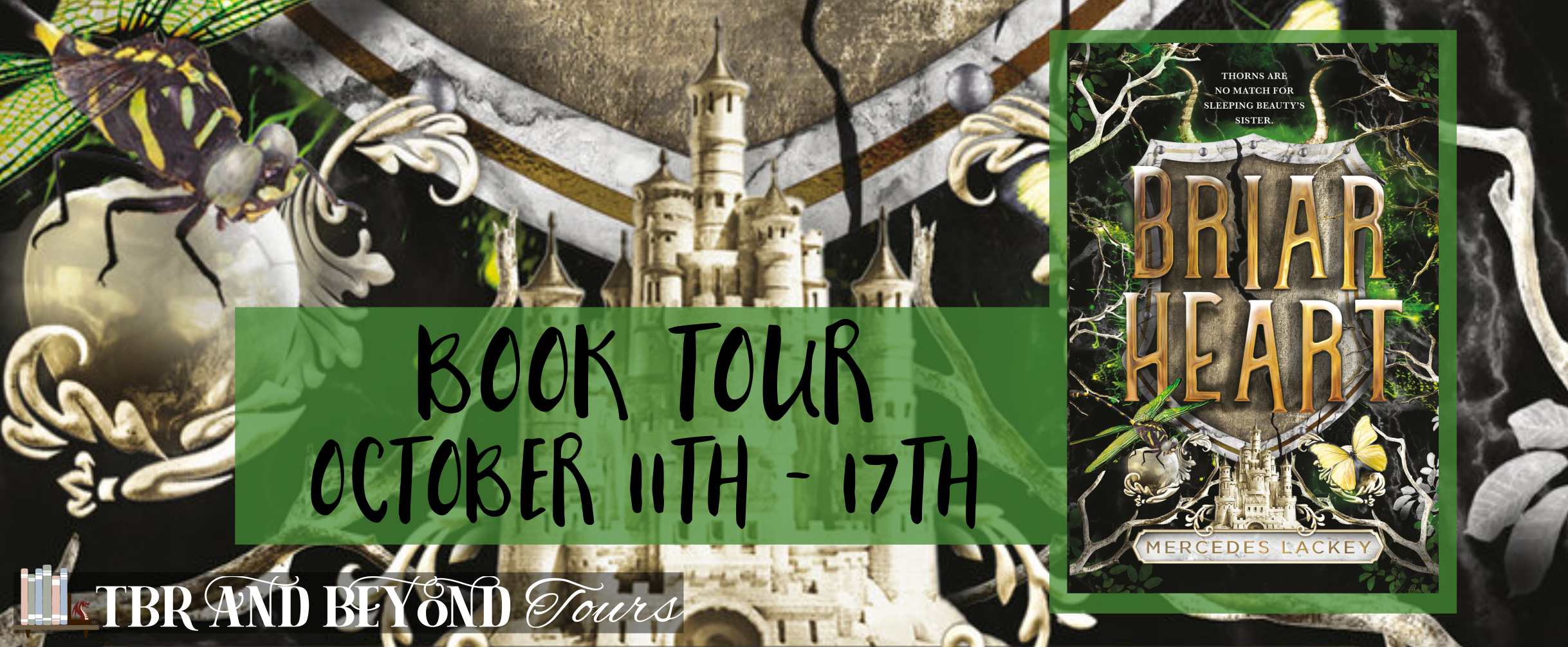 Read more about the article Blog Tour //Briarheart by Mercedes Lackey//